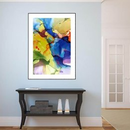"""Mid Evening Passion"" an art print by John Martono"