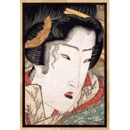Rejected Geisha #5, a print by Keisai Eisen