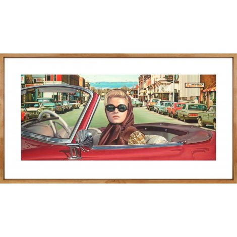 """""""The Material Gaze #2"""" a Framed Limited Edition print by Steve Rosendale"""