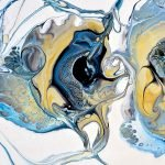 Blue Lace Agate by Miertje Skidmore
