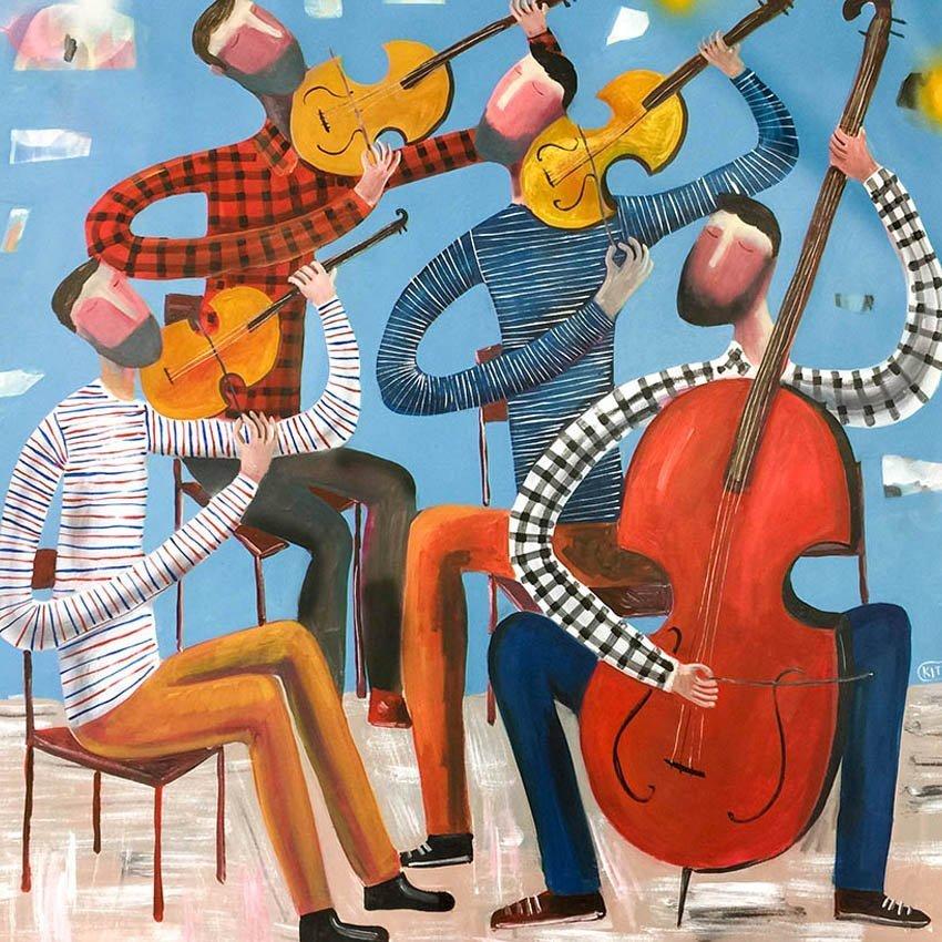 String Quartet by Kitti Narod