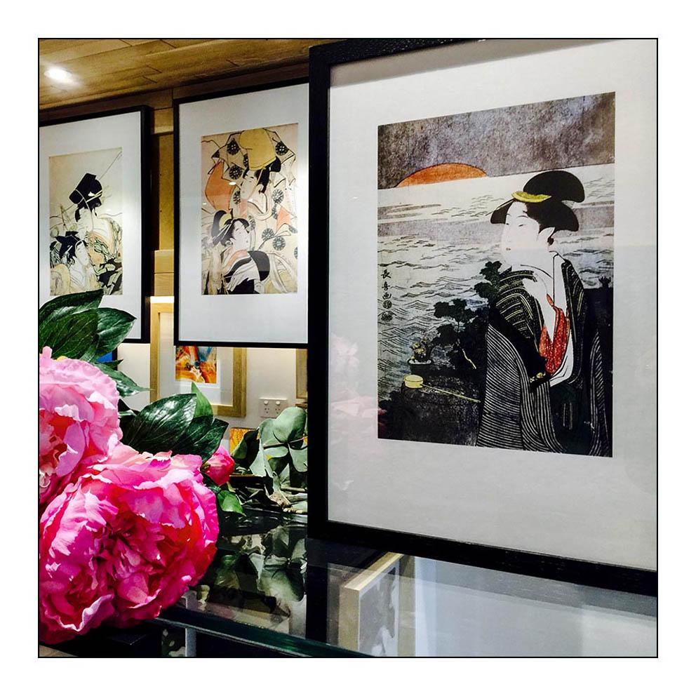Ukiyo-e Japanese Woodblock prints