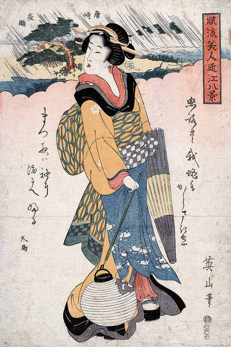 Ukiyo-e : Pictures of the Floating World