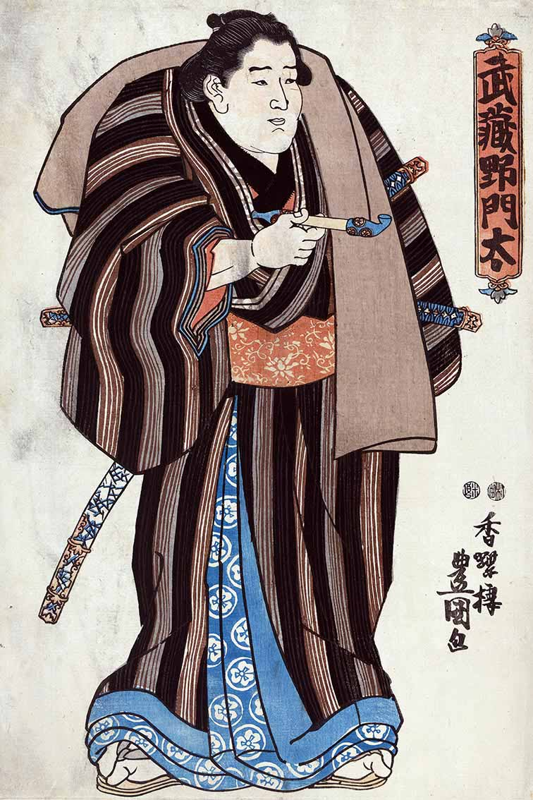 Ukiyo-e japanese prints