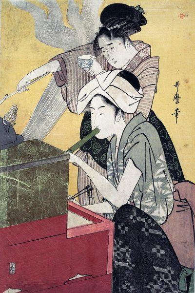 Utamaro Ukiyo-e print