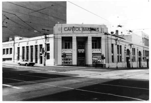 Capitol bakery on corner of Chapel St and Toorak Rd opposite Reject Shop where I made my first Ukiyo-e Print Sale