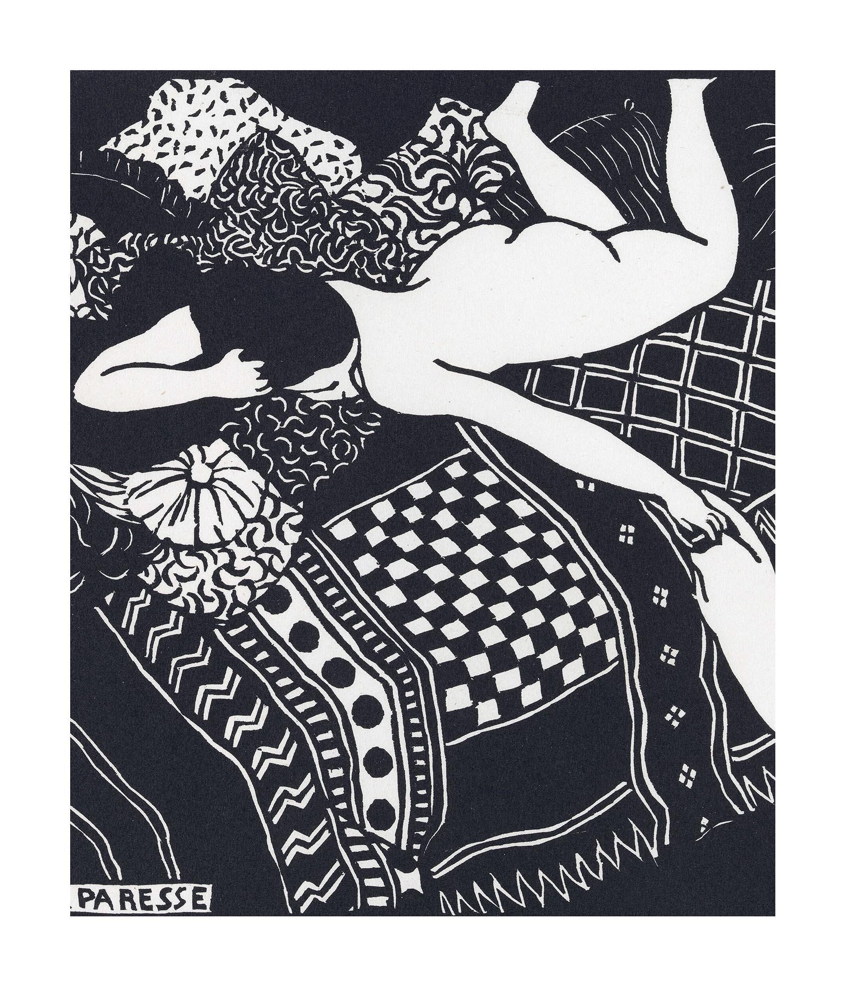 La Parisse by Felix Vallotton